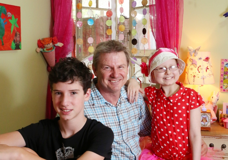 Amy Poynting 10 of Ashgrove was diagnosed with cancer aged three Now at 10