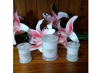 Large Memorial Candle - Unscented